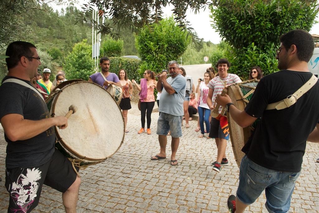 Arruada com a participação de alunos da ETEO
